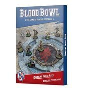 Blood Bowl - Shambling Undead pitch & dugouts