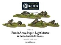 Bolt Action - French Army Sniper, Light Mortar and AT Rifle Teams