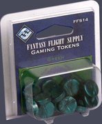 Game Tokens Green