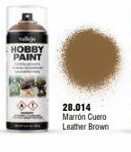 Vallejo Hobby Paint Leather Brown Spray 400ml.