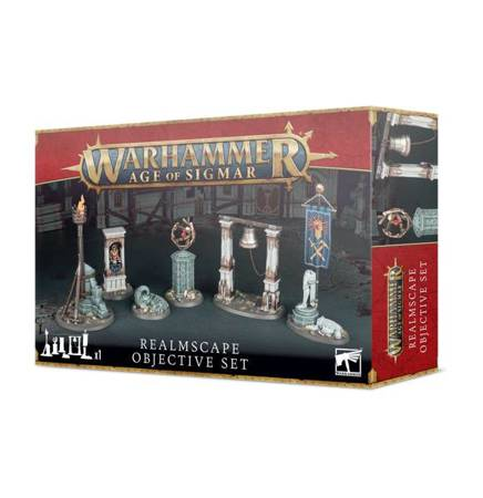 Age of Sigmar Realmscape -  Objective set