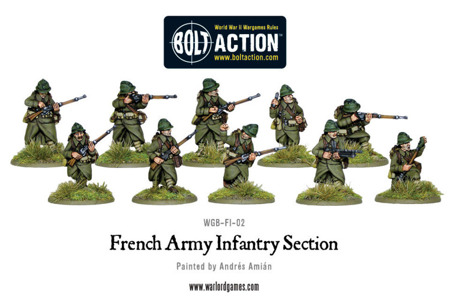 Bolt Action - French Army Infantry Section