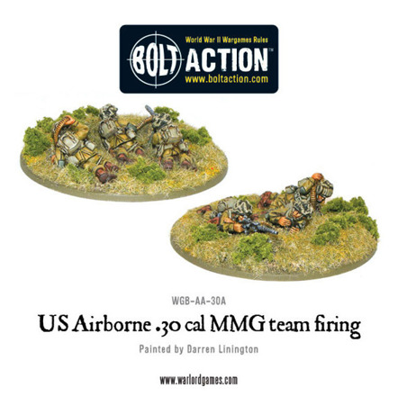 Bolt Action - US Airborne .30 cal Team