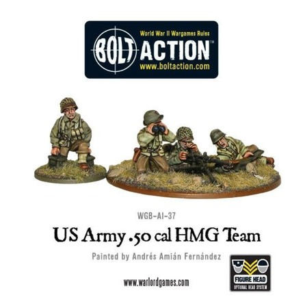 Bolt Action - US Army 50 Cal HMG team