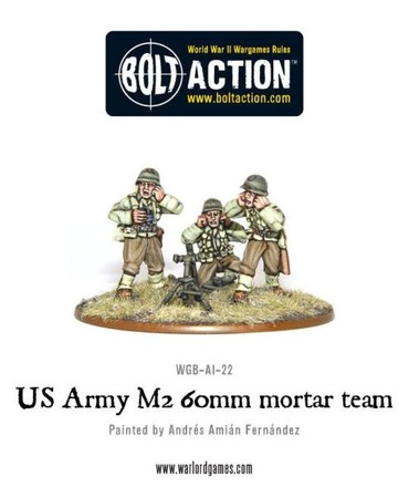 Bolt Action - US Army 60mm mortar team