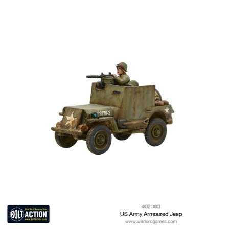 Bolt Action - US Army Armoured Jeep