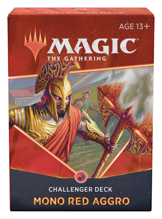 Challenger Deck 2021 Mono Red Aggro