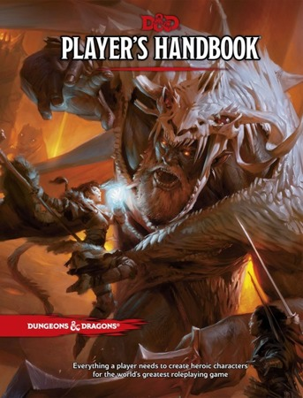 Dungeons & Dragons RPG 5th ed. Players Handbook