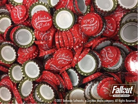 Fallout Wasteland Warfare Nuka Cola Caps