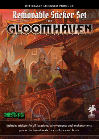 Gloomhaven Removable Sticker Set (ENG)