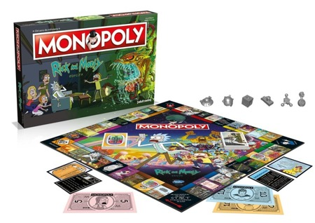 Monopoly Rick and Morty [PL]