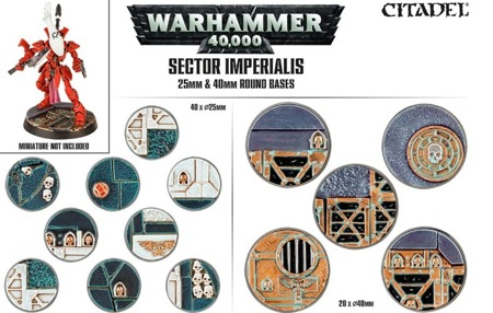 Sector Imperialis - 25mm & 40mm round bases