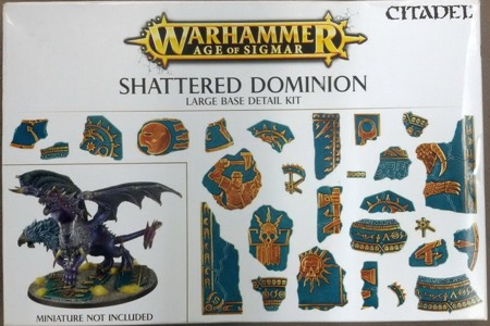 Shattered Dominion: Large Base Detail