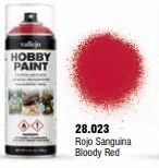 Vallejo Hobby Paint Bloody Red Spray 400ml.