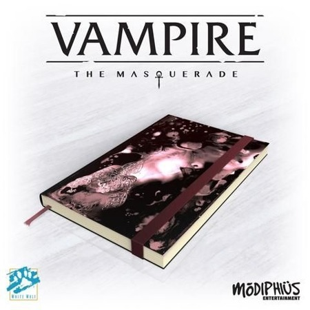 Vampire Masq Official Notebook 5th Ed.