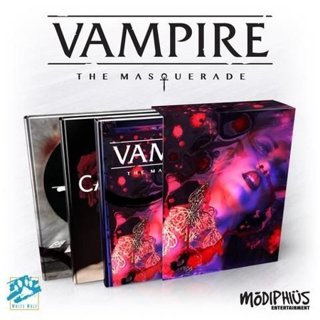 Vampire Masq Slipcase Set w/3 Books 5th